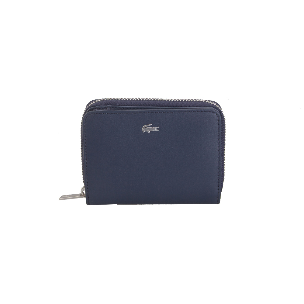 3b4406353f Verraros Lacoste NH2636FG S Zip Wallet Cow Leather 021 Peacoat