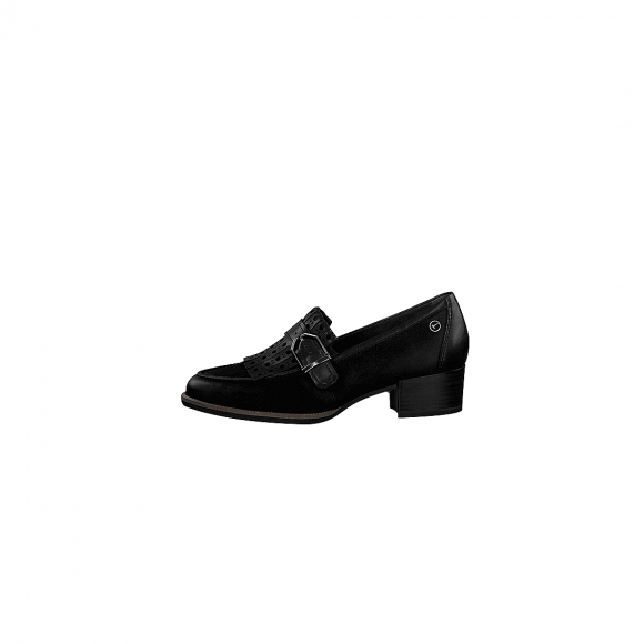 Tamaris 1 1 24306 21 001 Black suede