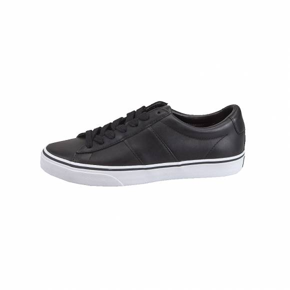 Ανδρικά Δερμάτινα Sneakers Polo Ralph Lauren 816702987002 Sayer sk vlc Black