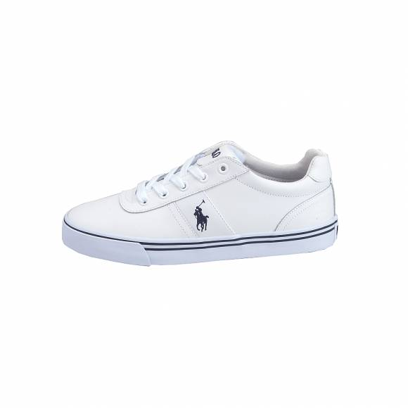 Ανδρικά Δερμάτινα Sneakers Polo Ralph Lauren 816765046002 Hanford Sk Vlc White