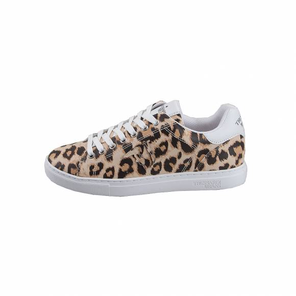 Γυναικεία Trussardi Sneaker Synthetic Animalier 79A00461 W702 All Over Fant Animal Beige 9Y099999