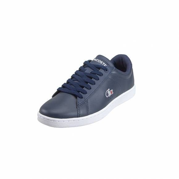 3c905bbc680 ... Γυναικεία Δερμάτινα Sneakers Lacoste Carnaby Evo 119 7 SFA NVY WHT RED 7 -37SFA00167A2