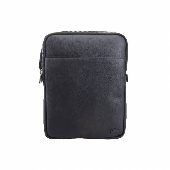 d8875cd72b ... Ανδρικό Τσαντάκι Lacoste NH2840GL 000 Black M Flat Crossover Bag