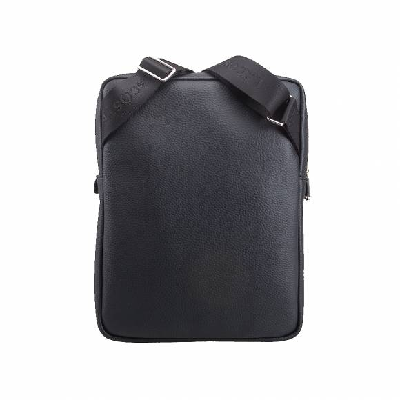 b117dc79fb Ανδρικό Τσαντάκι Lacoste NH2840GL 000 Black M Flat Crossover Bag ...