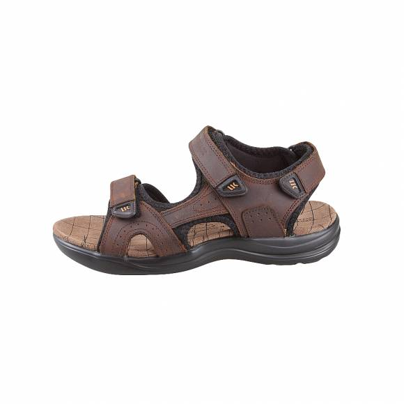Ανδρικά Σανδάλια Lumberjack Earth SM30606 002 B02 M0119 DK Brown Black