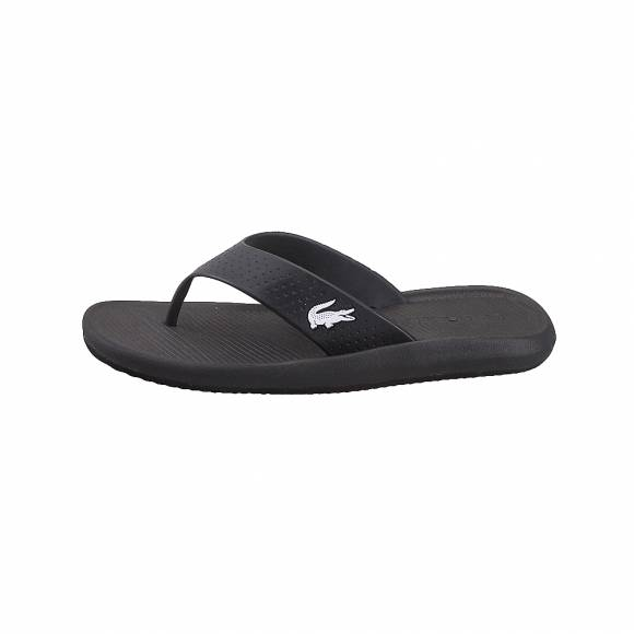 Ανδρικές Σαγιονάρες Lacoste Croco Sandal 219 1 CMA 7 37CAM0015312 Black White Synthetic