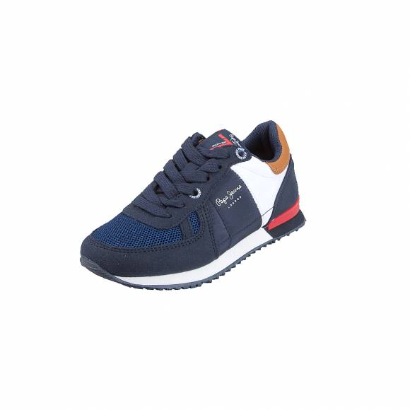 Παιδικά sneakers Pepe Jeans PBS30420 595 Syndey Basic AW19 Navy
