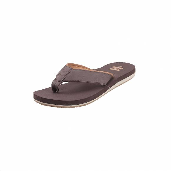 Ανδρικές Σαγιονάρες Toms Carilo 1009860 Chocolate Brown mn Carlio flip