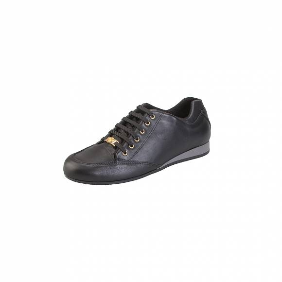 Toutounis f2175 black leather