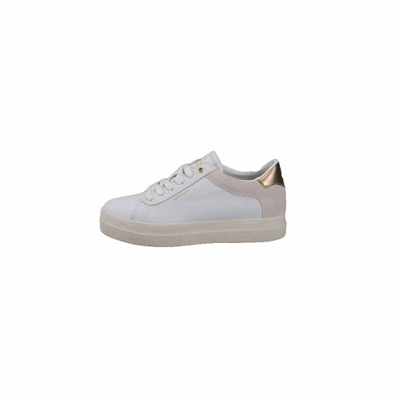 GANT Amanda 17531847 Leather Silky suede G290 bright white