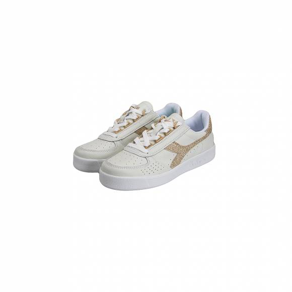 DIADORA B ELITE L WN 501 173135 01 C1070 WHITE GOLD