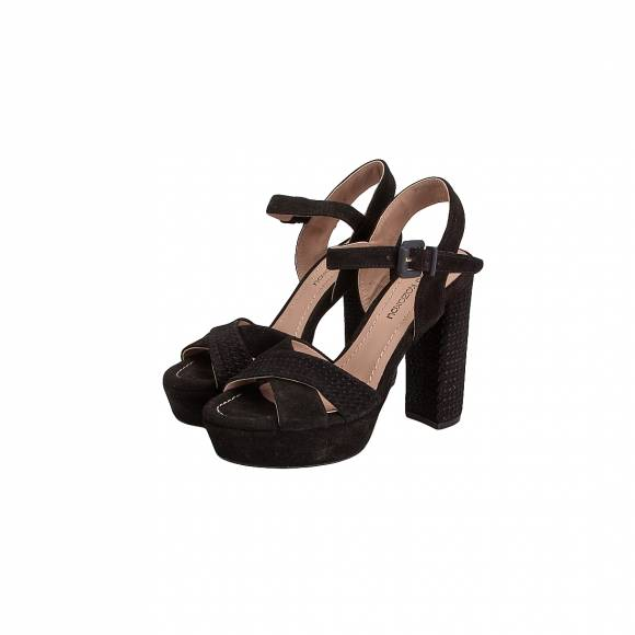 GIANNA KAZAKOU W5531 8127 FT10 K BLACK SUEDE