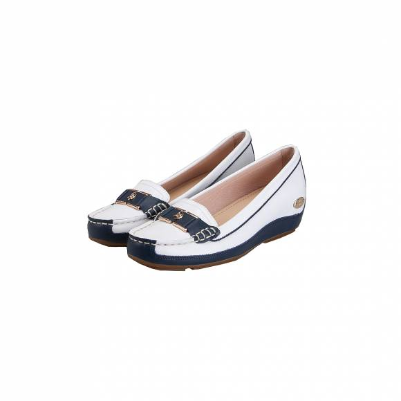 ESTHISSIS W1531.E11008.D WHITE NAVY LEATHER