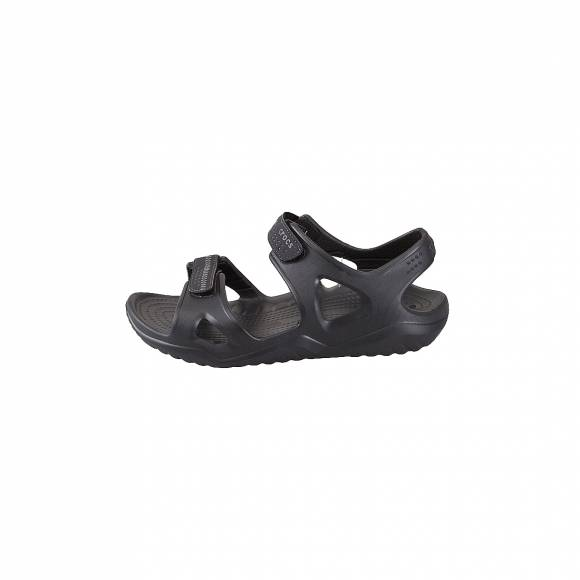 191c3c4cb8a CROCS 203965-060 SWIFTWATER RIVER SANDAL M BLACK BLACK RELAXED FIT ...