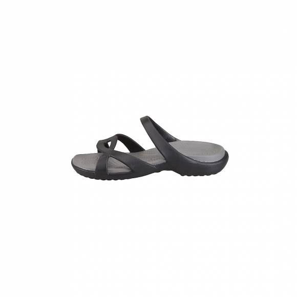 CROCS 202497-05M MELEEN TWIST SANDAL W BLACK BLACK RELAXED FIT