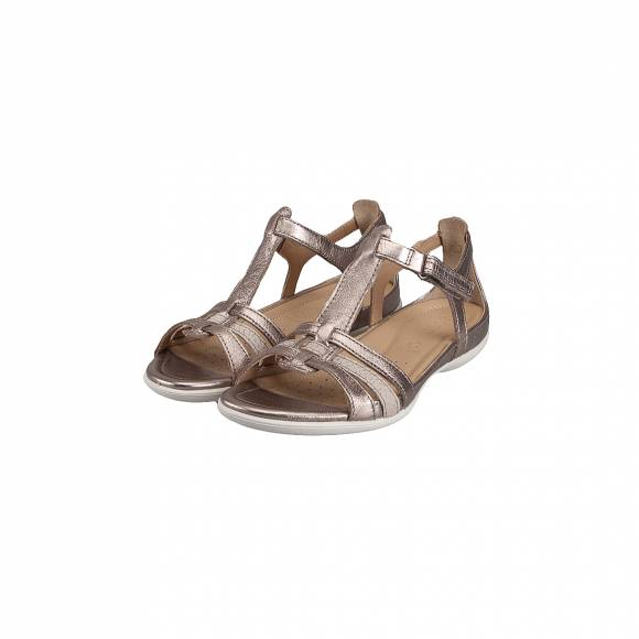 ECCO FLASH 240873 57462 WARM GREY METALLIC MOON ROCK
