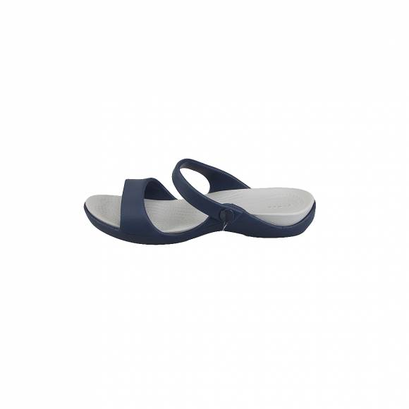 CROCS 204268-41S CLEO V NAVY LIGHT GREY RELAXED FIT