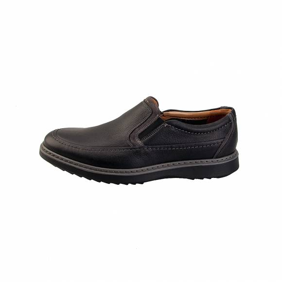 Clarks Un Geo Step 26136385 Black Leather