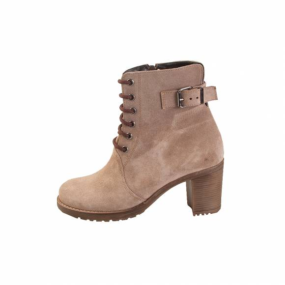Divino Shoes 40 Taupe Suede