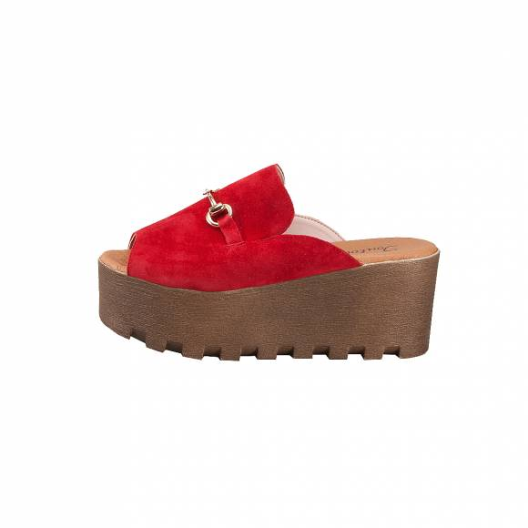 TOUTOUNIS 49220 RED SUEDE