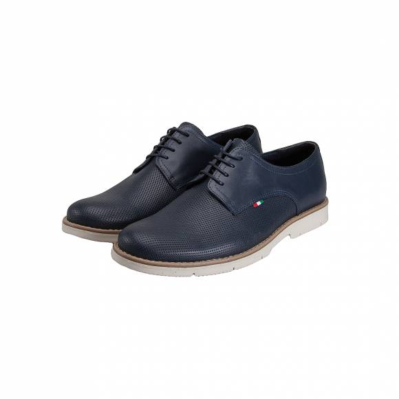 VERRAROS UOMO K21 NAVY LEATHER