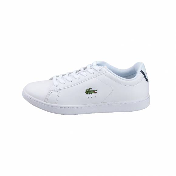 eb36ac11062 Ανδρικά Δερμάτινα Sneakers Lacoste Carnaby Evo Bl 1 Spm Wht Lth Syn 7  33SPM1002001 ...