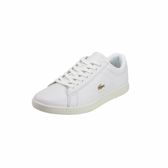 f897dbb2136 ... Γυναικεία Δερμάτινα Sneakers Lacoste Carnaby Evo 119 3 Sfa Off Wht Off  Wht Leather 7 37SFA001318C