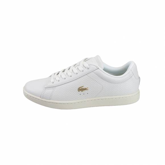 342cbb964f2 Γυναικεία Δερμάτινα Sneakers Lacoste Carnaby Evo 119 3 Sfa Off Wht Off Wht  Leather 7 37SFA001318C ...