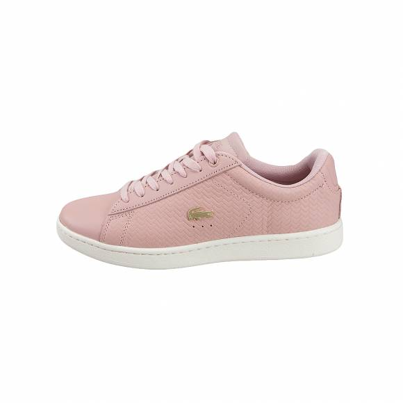 fae22e8b4c2 Γυναικεία Δερμάτινα Sneakers Lacoste Carnaby EVO 119 3 SFA Nat Off White  leather 7-37SFA0013TS2 ...