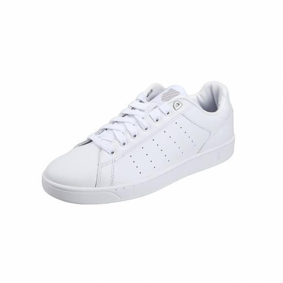 K Swiss 629290077 14 99 Clean Court Cmf Men s low White Gull Gray