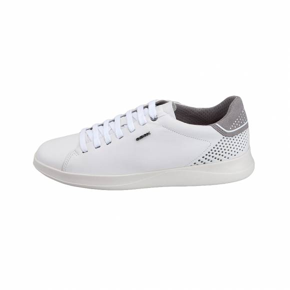 772d756b602 Ανδρικά Δερμάτινα Sneakers Geox U926FB 00085 C1000 Kennet nappa White  sneakers ...