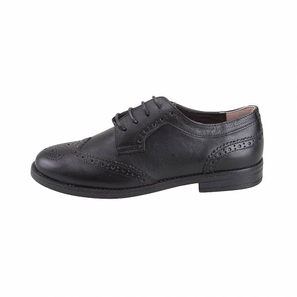 Toutounis 7643 Black leather