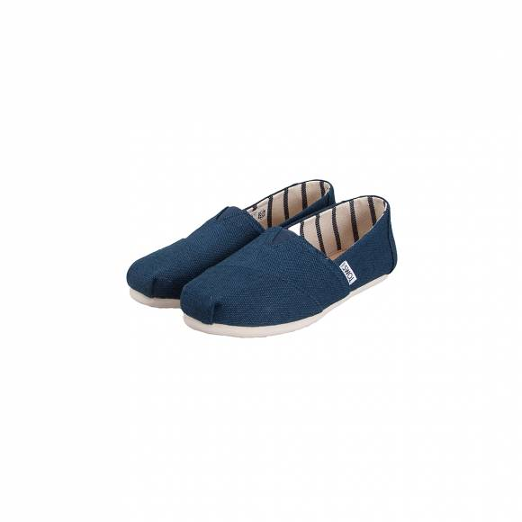 TOMS CLASSIC MAJOLICA BLUE HERITAGE CANVAS 10011671