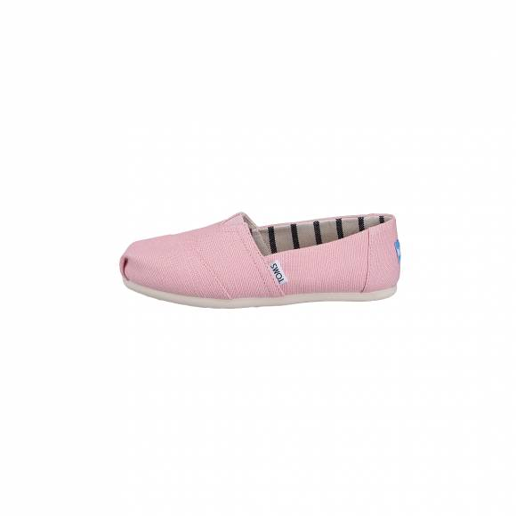TOMS CLASSIC POWDER PINK HERITAGE CANVAS 10011677