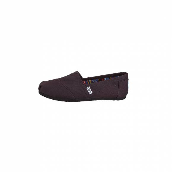 TOMS CLASSIC BLACK ON BLACK CANVAS 10002472