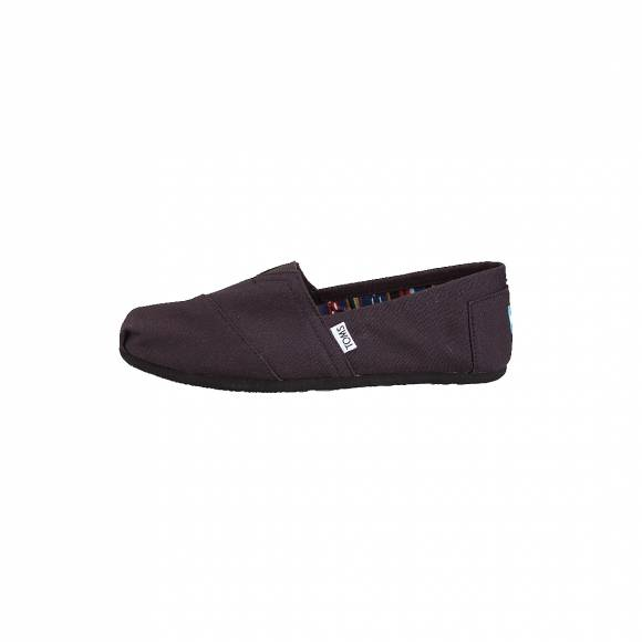 TOMS CLASSIC BLACK ON BLACK CANVAS 10002931