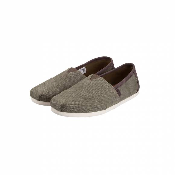 TOMS CLASSIC OLIVER WASHED CANVAS TRIM 10009900