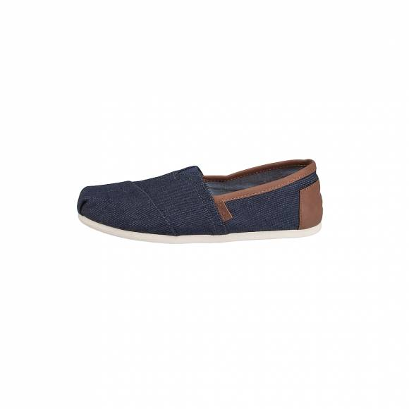 TOMS CLASSIC DARK DENIM SYNTHETIC LEATHER TRIM 10008336