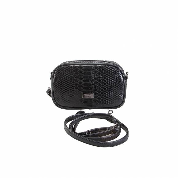 Four Knot 910018 Croco Black belt bag