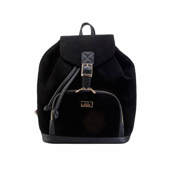 Four Knot 1030018 Black suede Backpack