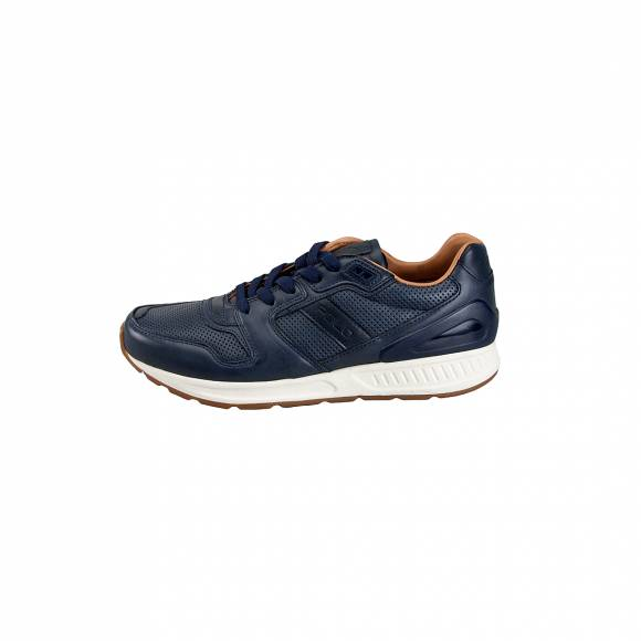Ανδρικά Δερμάτινα Sneakers Polo Ralph Lauren Train100 SK Ath Navy 809674774006