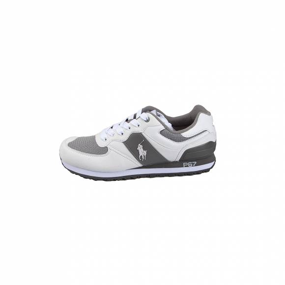 POLO RALPH LAUREN SLATON PONY SK ATH WHITE GREY 809700870001
