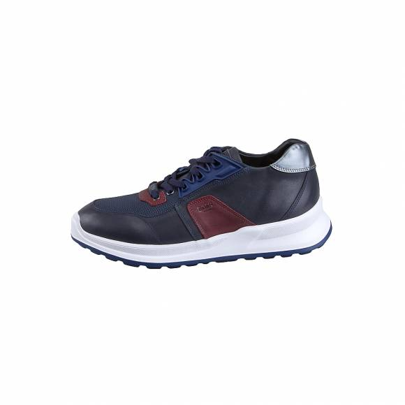 BossΑνδρικά Δερμάτινα Sneakers Boss shoes M6298 Blue