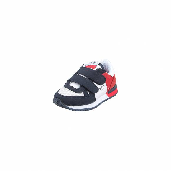 Παιδικά Sneakers Pepe Jeans PBS30399 255 Syndey Basic SS19 Kids Red
