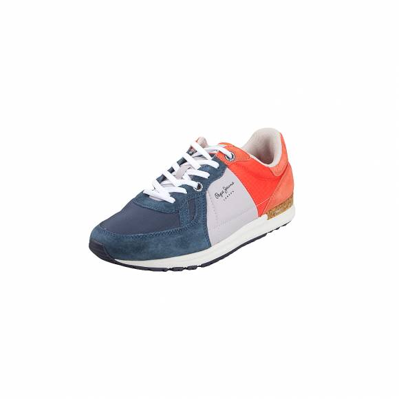 5a4b4b69f87 Ανδρικά Δερμάτινα Sneakers Pepe Jeans PMS30510 584 Tinker Pro Camp Summer  Old Navy