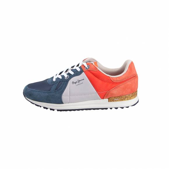 ec3a37d8271 Ανδρικά Δερμάτινα Sneakers Pepe Jeans PMS30510 584 Tinker Pro Camp Summer  Old Navy ...