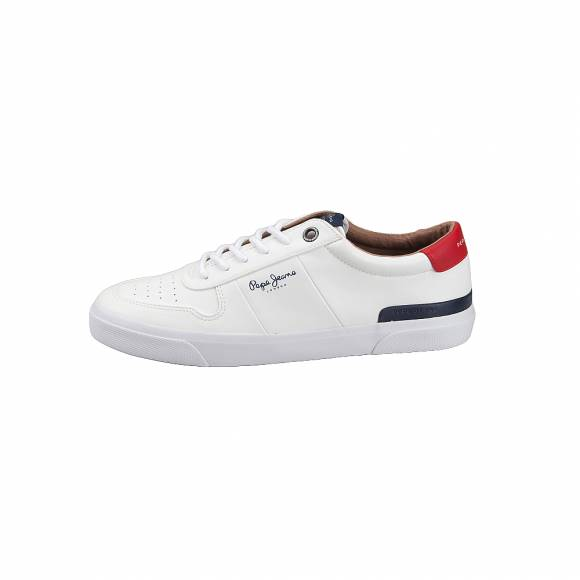 6803a18bd78 Ανδρικά Sneakers Pepe Jeans PMS30539 800 Traveller White ...