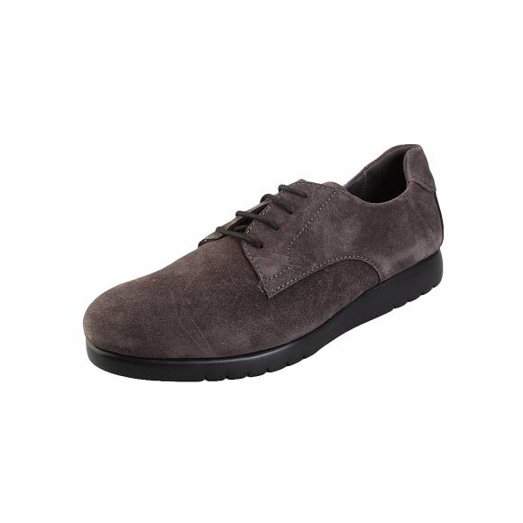 Ανδρικά Δερμάτινα Sneakers Saydo 694280093 16 98 Footpath suede carbon