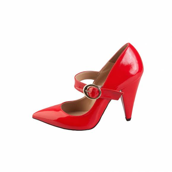 Bruni 811 Red patent