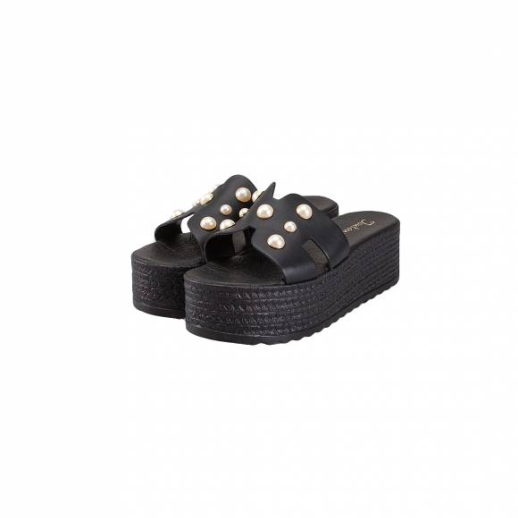 TOUTOUNIS 46225 BLACK LEATHER